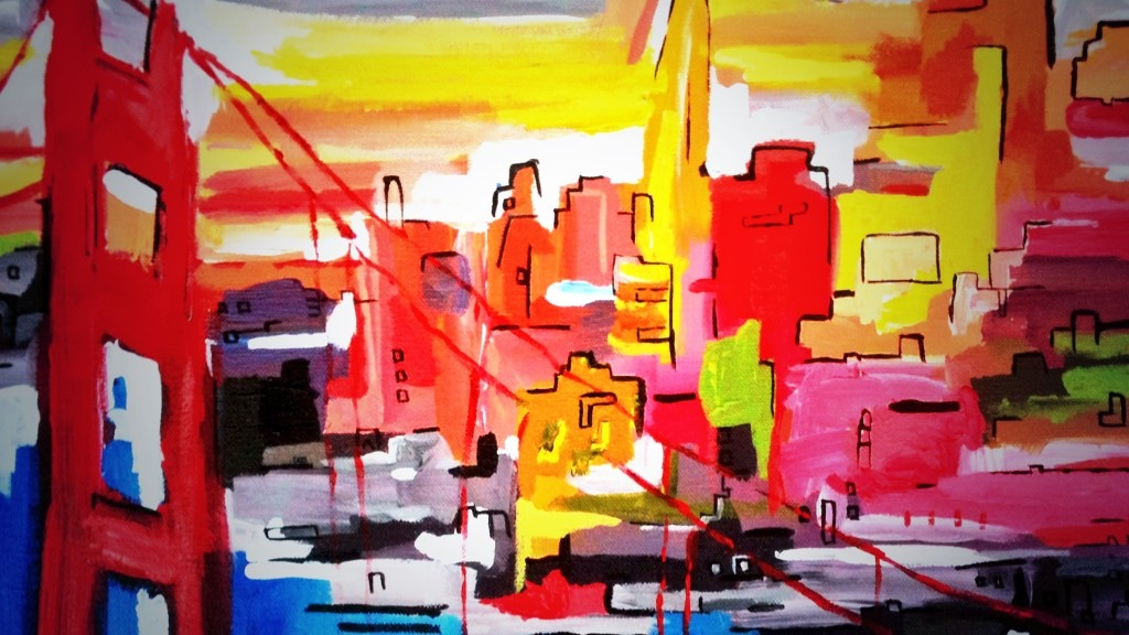 Technicolour San Francisco June 2014 40x30 cm EU 75