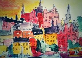 194- Stockholm at dusk