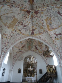 A swedish church on Faro, Gotland