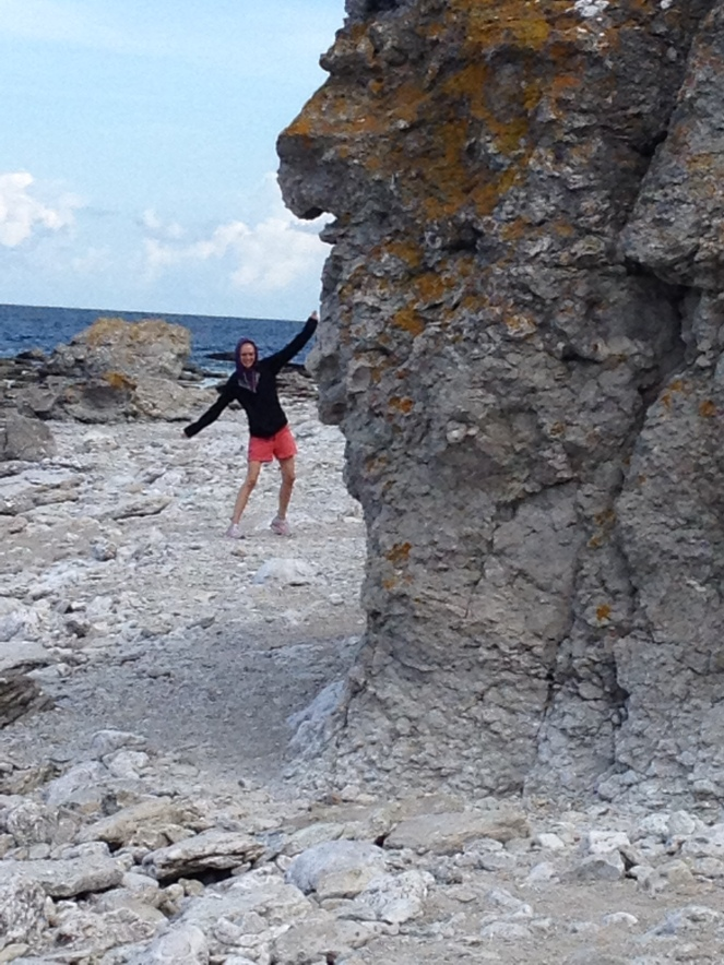 On Faro in Gotland