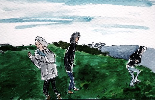 208- On the downs in Eastbourne