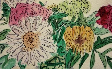 211- Celebration flowers