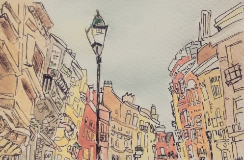 225- Streets in Brussels