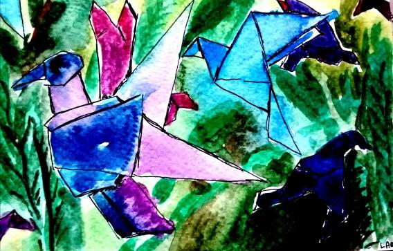 236 - Origami Birds