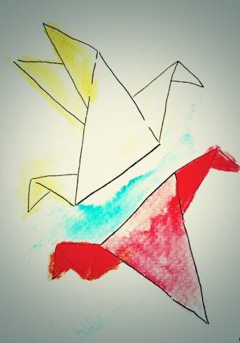 239- Origami Birds