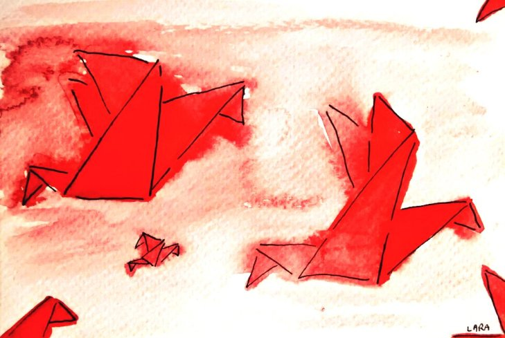 240-Origami Birds