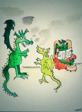 243- Dragon family arguements
