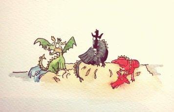 244- Dragon bedtime
