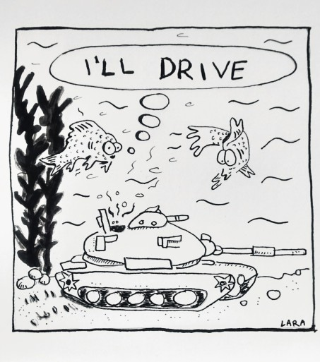 My somewhat meta cartoon