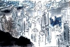 257 - Hong Kong Skyline