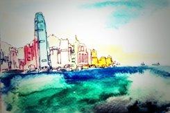 258- HK Skyline