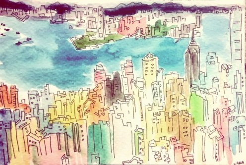 259 - HK Skyline