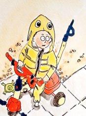 276- Arthur in his Nemo suit