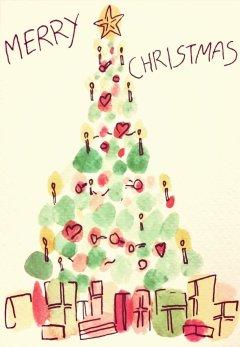 289 - Christmas blobs