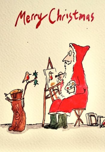 295- Quentin Blake Father Christmas