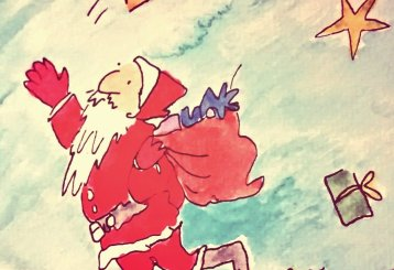 296- Quentin Blake Father Christmas