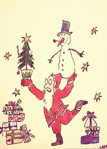 297- Quentin Blake Father Christmas