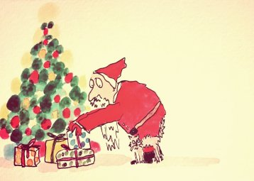 298- Father Christmas and the family cat