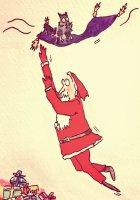 300 - Father Christmas and Aladdin