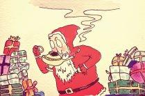 301- Father Christmas and Aladdin