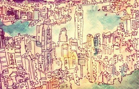 320- Hong Kong from the peak