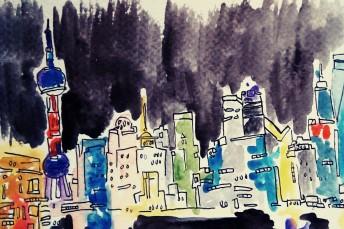 324- Shanghai at Night