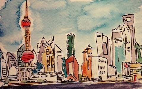 325- Shanghai at day