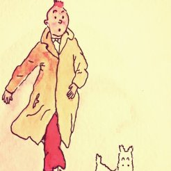 334- Tintin on a mission
