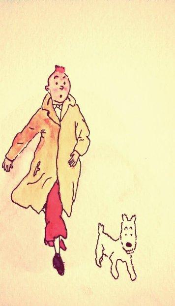 334- Tintin on a mission