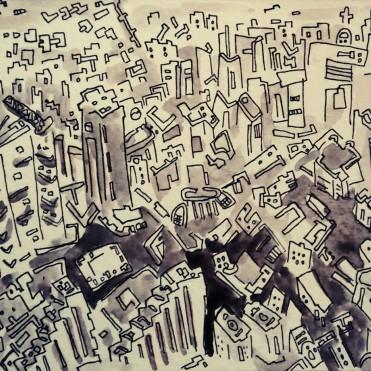 340- City skyline