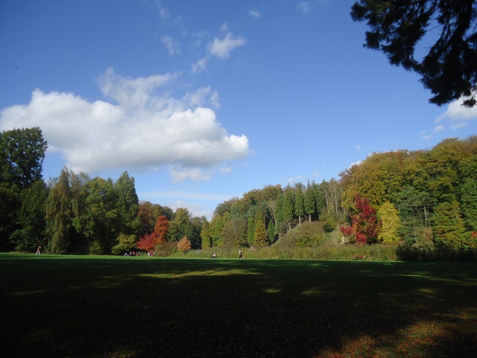 Autumn in Chateau La Hulpe