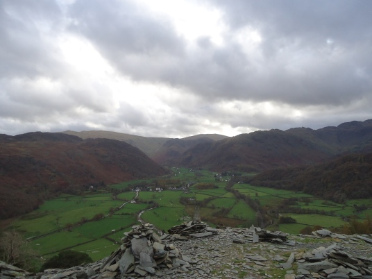 Borrowdale Valley Lake District