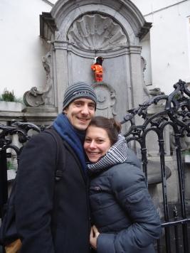 Mannequin Pis in Brussels