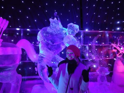 Disney frozen wonderland in Antwerp