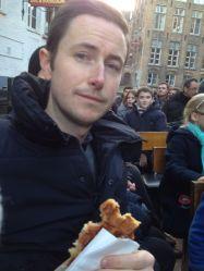 Waffle in Bruges