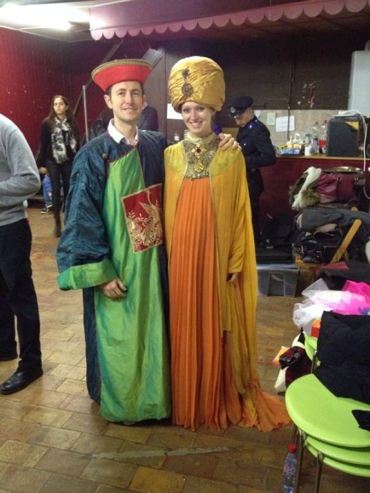 Emperor and Genie