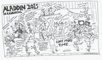 Aladdin 2015- In rehearsal
