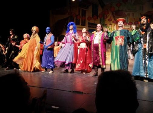 Aladdin curtain call