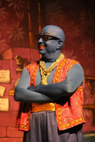 Our amazing Genie of the lamp