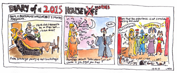 Diary of a Housewife 2015- Pantomime tips
