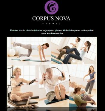 Corpus Nova Studio in Ixelles Brussels
