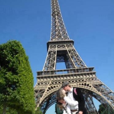 Richard and Teresa in Paris