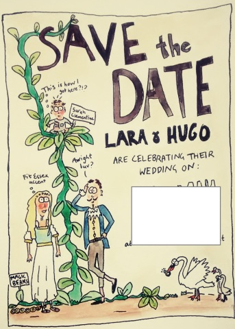 Save the Date for our wedding