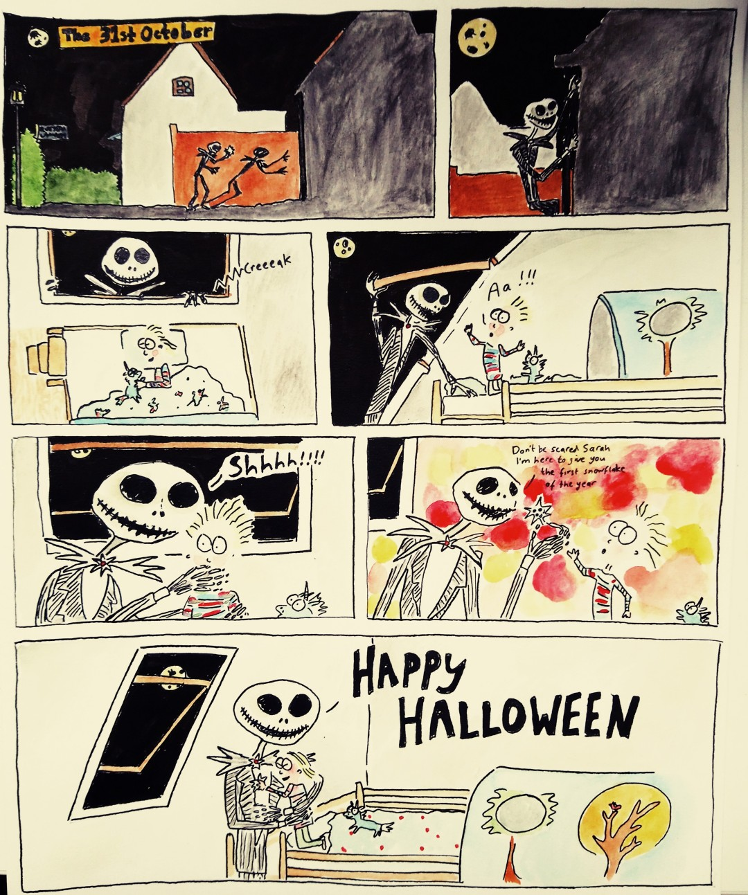 Final halloween cartoon