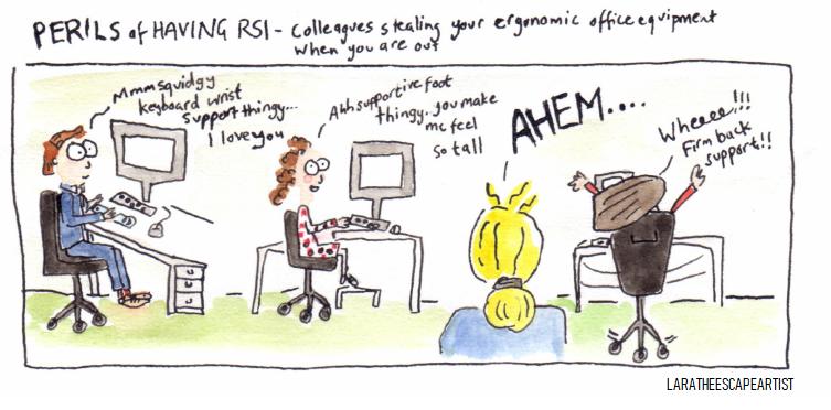 Perils of having RSI colour