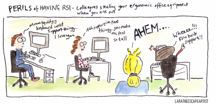 Perils of having RSI colour